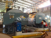 4吨WNS系列冷凝式燃气蒸汽锅炉项目(联发纸业)