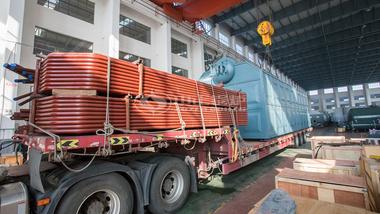 中正锅炉SZL系列链条炉正发往宁夏固原