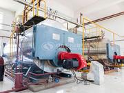 6吨WNS系列冷凝式燃气蒸汽锅炉项目(光宇蓄电池)