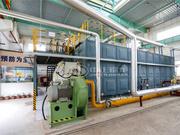 25吨SZS系列冷凝式燃气蒸汽锅炉项目(三五三三印染厂)