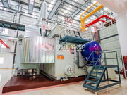 天津市58MW SZS系列环保燃气热水锅炉项目(嘉海供热站)