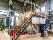 亿通果蔬汁SZS系列低氮燃气饱和蒸汽锅炉案例