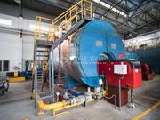 15吨WNS系列冷凝式燃气蒸汽锅炉项目(维达纸业)