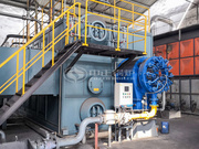 联华染整25吨SZS系列环保型燃气蒸汽锅炉项目