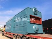 广东源信饲料实业15吨SZL系列链条炉排蒸汽锅炉项目