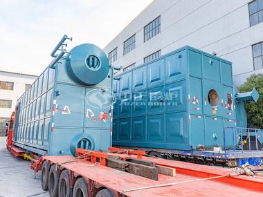 发往国电双鸭山发电厂的中正SZS50吨燃气蒸汽锅炉