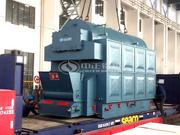 新希翼集团4吨DZL系列链条炉排快装蒸汽锅炉项目