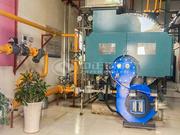 内蒙古精卓羊绒制品2吨WNS系列冷凝式燃气蒸汽锅炉项目
