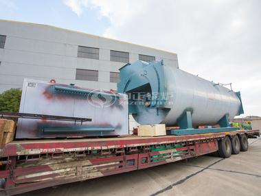 中正WNS系列锅炉发往五洲丰农业科技有限企业