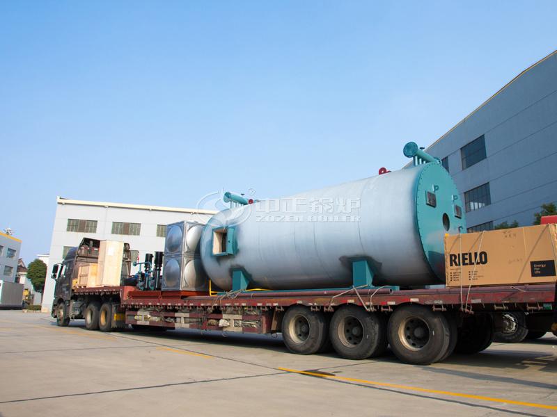 出口哈萨克斯坦360万大卡YQW系列燃气卧式www.lehu168.com项目