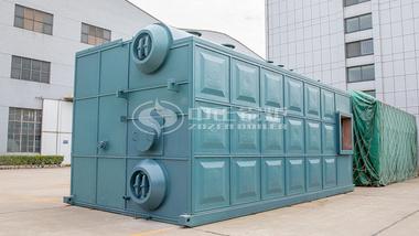 中正SZS系列低氮燃气热水锅炉案例集锦