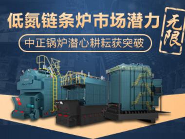 低氮链条炉市场潜力无限  中正锅炉潜心耕耘获突破