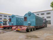新大东纺织10吨SZL系列链条炉排蒸汽锅炉项目