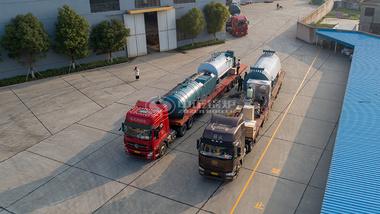 中正4吨燃气撬装锅炉4.2MW燃气www.lehu168.com发货至乌兹别克斯坦