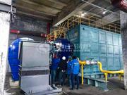 哈投股份29MW SZS系列环保型燃气热水锅炉项目
