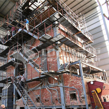 孟加拉国造纸企业35吨ZZ系列中温中压燃煤蒸汽锅炉项目