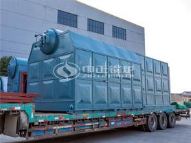 泉发染整15吨SZL系列生物质链条炉排蒸汽锅炉项目