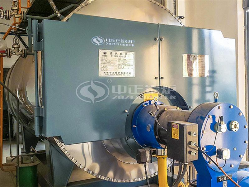 南京金龙客车3吨WNS系列冷凝式天然气蒸汽锅炉项目