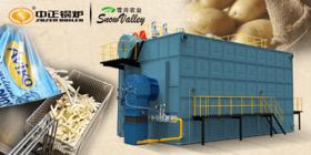 """专""""薯""""你的中正锅炉 为雪川食品量身定制环保节能锅炉系统"""