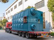 玉锋实业10吨SZS系列燃气蒸汽锅炉项目