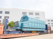 孟加拉国6吨SZL系列链条炉排蒸汽快装锅炉项目