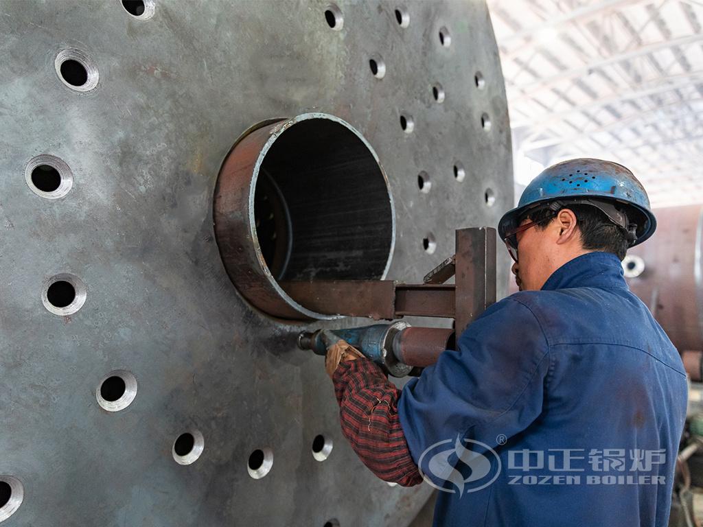 中正锅炉WNS系列锅炉采用全波纹炉胆