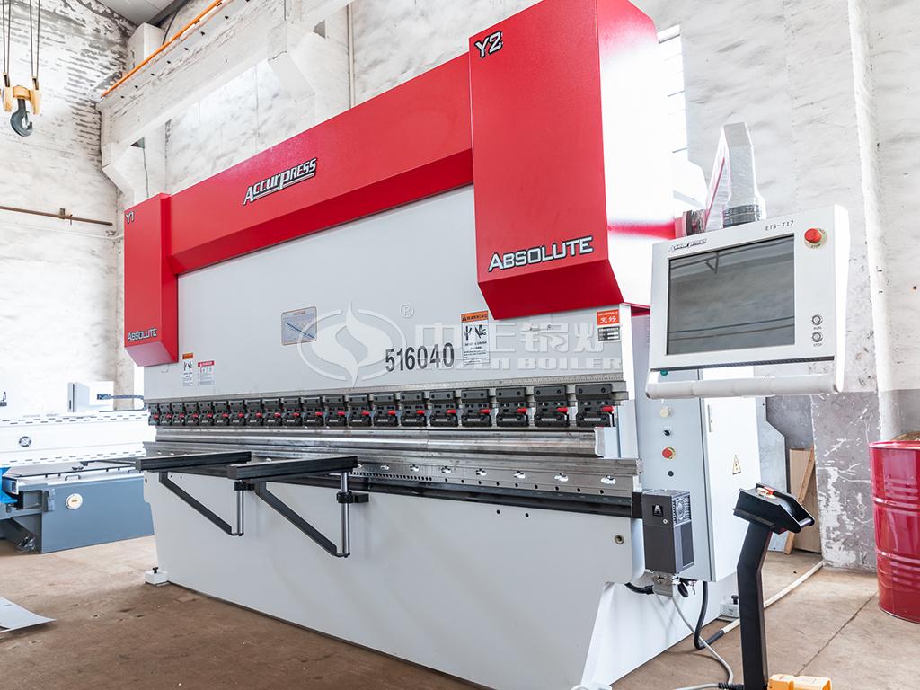 中正锅炉采购新设备加速生产 锅炉产能再提升