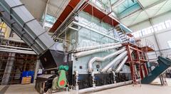 运行于易高生物能源的中正25吨SZL系列生物质蒸汽链条炉