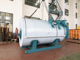 蓝德环保4吨WNS系列燃气蒸汽锅炉项目
