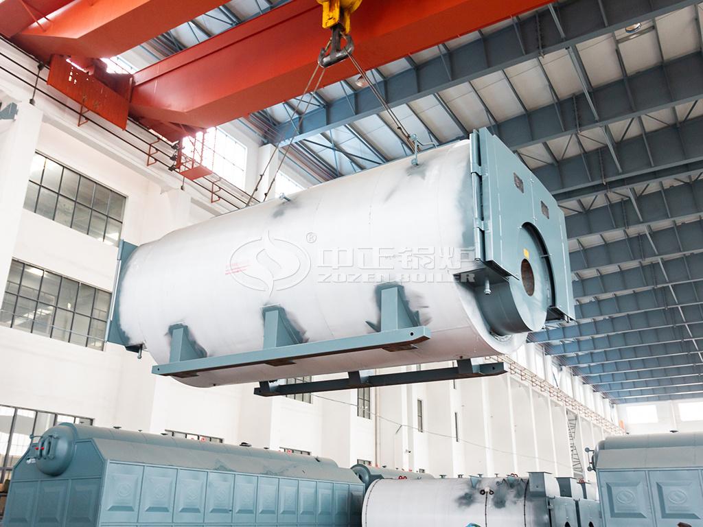 中正20吨WNS系列冷凝低氮燃气蒸汽锅炉发货中