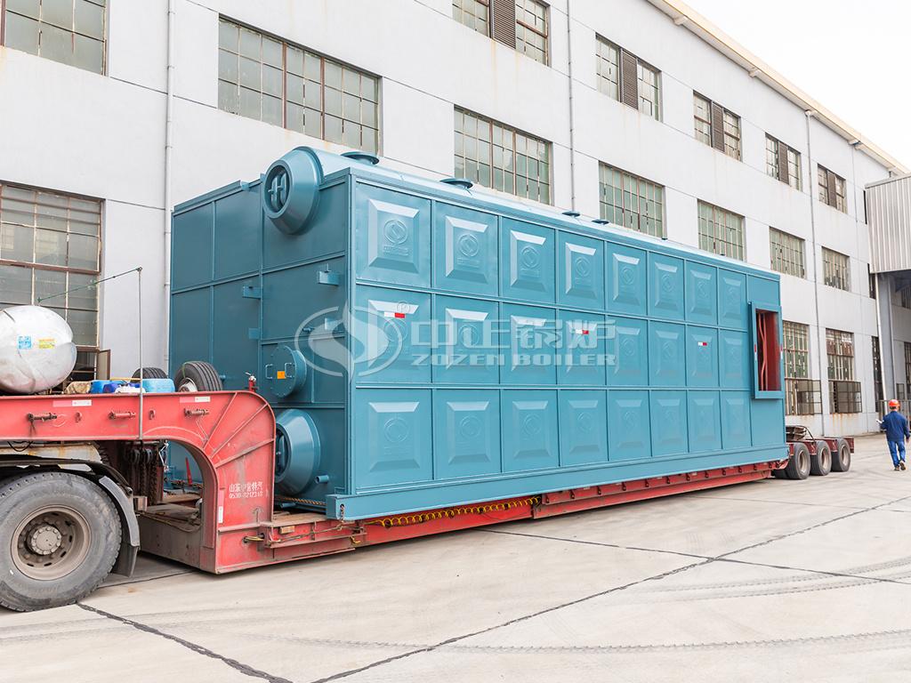 发往北京供热行业的中正29MWSZS低氮热水锅炉