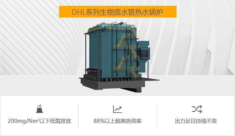 中正锅炉DHL系列生物质热水锅炉