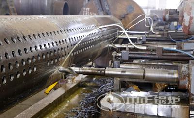 中正锅炉锅筒数控钻设备