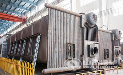 中正锅炉SZS系列采用全膜式水冷壁结构