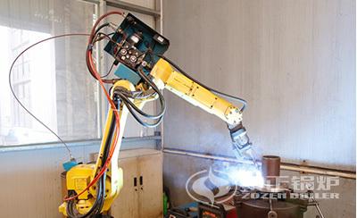 中正锅炉管座自动焊设备