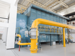 58MW SZS系列燃气热水锅炉项目(纪庄子供热)