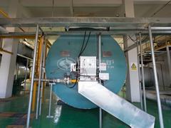 700万大卡YQW系列燃气导热油锅炉项目(新衡新材料)