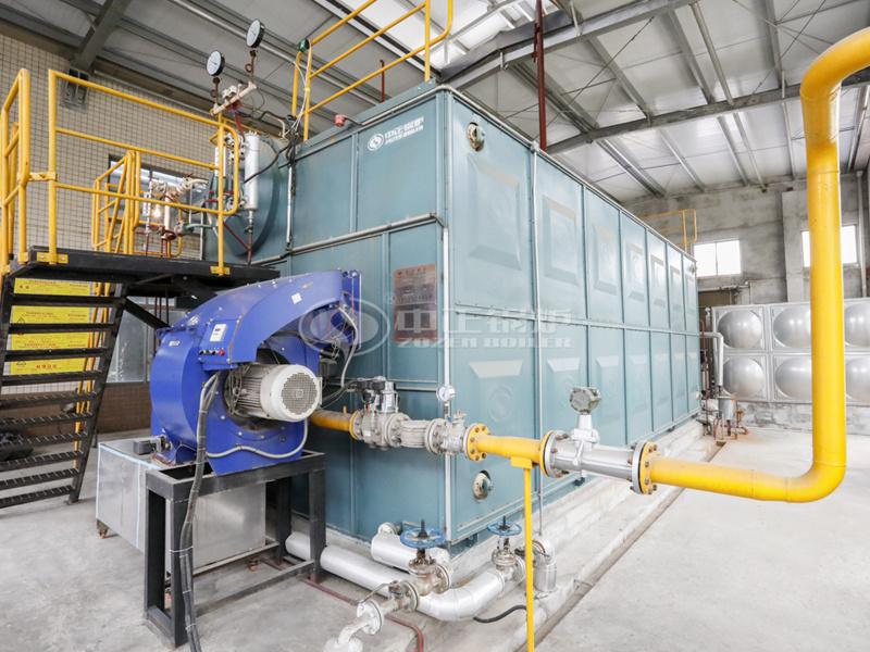 10吨SZS系列冷凝式燃气蒸汽锅炉项目(川南酿造)