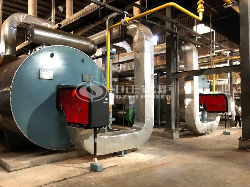 500万大卡YQW系列燃气导热油锅炉项目(大闽食品)