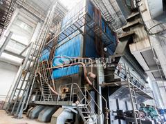 58MW DHW系列大型往复炉排燃煤热水锅炉项目(龙港区供暖)