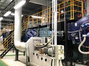 30吨SZS系列冷凝式燃气蒸汽锅炉项目(三星电子)