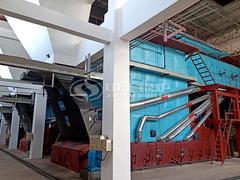 延长石油25吨SZL系列散装链条炉排蒸汽锅炉项目