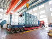 巴基斯坦纺织行业500万大卡YLW系列链条炉排导热油锅炉项目