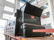 内蒙古金山矿业10吨SZL系列生物质蒸汽锅炉项目
