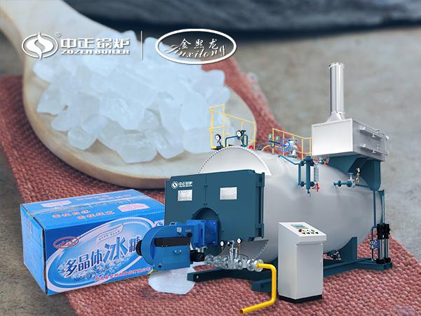 中正节能锅炉推进金熙龙食品锅炉项目进程 全自动燃气锅炉点火成功