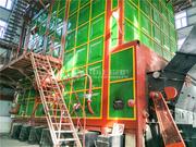 新疆华电哈密热电29MW SHL系列链条炉排燃煤热水锅炉项目