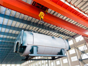 出口多米尼加15吨WNS系列三回程燃油蒸汽锅炉项目