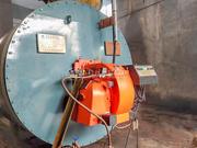 银河丝织300万大卡YQW系列燃气导热油锅炉项目