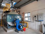 南京常力蜂业2吨WNS系列冷凝式三回程燃气蒸汽锅炉项目
