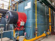 浙江和泓环保纸业20吨SZS系列燃气过热蒸汽锅炉项目